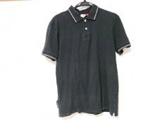ループウィラー 半袖ポロシャツ サイズMEDIAM レディース 黒×白