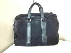 COACH(コーチ) ビジネスバッグ - F70020 黒 ナイロン×レザー
