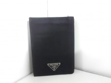 PRADA(プラダ) 2つ折り財布 - 黒 ナイロン