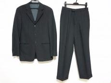 アルマーニコレッツォーニ シングルスーツ メンズ美品  黒×グレー