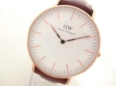 ダニエルウェリントン 腕時計美品  B36R7 レディース 白