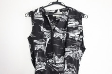 エンフォルド ワンピース サイズ38 M レディース美品  黒×白