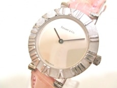 ティファニー 腕時計 アトラスラウンド L0640 レディース シルバー
