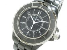 CHANEL(シャネル) 腕時計 J12 H0682 レディース セラミック/33mm 黒