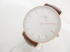 ダニエルウェリントン 腕時計 classic ST Andrews - メンズ 革ベルト