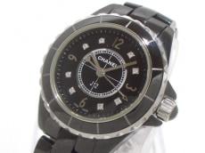 シャネル 腕時計 J12 H2569 レディース セラミック/29mm/8Pダイヤ 黒