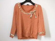 ブルマリン 長袖セーター サイズ42(I) M レディース リボン/花柄
