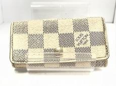 ルイヴィトン キーケース ダミエ ミュルティクレ4 N60020 アズール