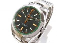 ROLEX(ロレックス) 腕時計美品  ミルガウス 116400GV メンズ 黒