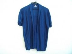 エルメス 半袖セーター サイズ40 M レディース ブルー カシミヤ