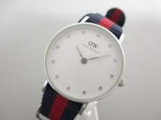 ダニエルウェリントン 腕時計美品  - - レディース ラインストーン