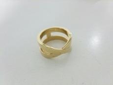 HERMES(エルメス) スカーフリング リュバン 金属素材 ゴールド