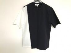 HYKE(ハイク) 半袖カットソー レディース 黒×白