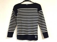 オーシバル 長袖セーター サイズ14 XL レディース美品  ボーダー