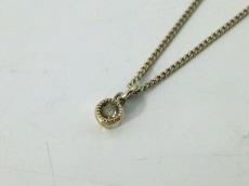 EMODA(エモダ) ネックレス美品  シルバー ラインストーン
