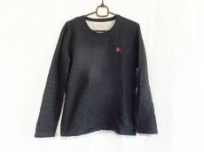 バーバリー 長袖Tシャツ サイズ2 M メンズ美品  黒×グレー