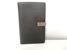 PRADA(プラダ) 2つ折り財布 - カーキ レザー