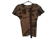 プリーツプリーズ 半袖Tシャツ レディース美品  プリーツ