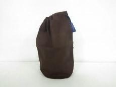 ルイヴィトン ポーチ ポッシュ ロンドゥ M47818 ブラウン コットン
