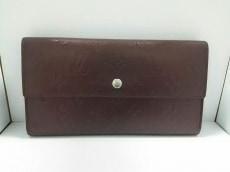 ルイヴィトン 長財布 モノグラムマット美品  M65106 ヴィオレ カーフ