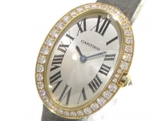 カルティエ 腕時計 ベニュワールSM WB520020 レディース シルバー