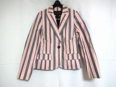 ルイヴィトン ジャケット サイズ36 S レディース ピンク×黒