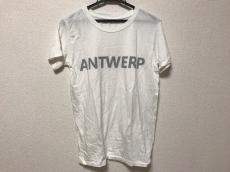 upper hights(アッパーハイツ) 半袖Tシャツ レディース 白×グレー