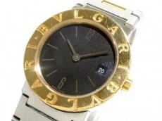 ブルガリ 腕時計 ブルガリブルガリ BB26SG レディース SS×K18YG 黒