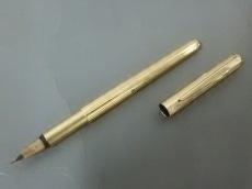 モンブラン 万年筆美品  - ゴールド ペン先K14/インクなし 金属素材