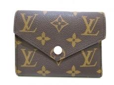 LOUIS VUITTON(ルイヴィトン) 3つ折り財布 モノグラム美品  M62360