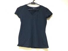 GUCCI(グッチ) 半袖Tシャツ サイズXS レディース 黒 Vネック