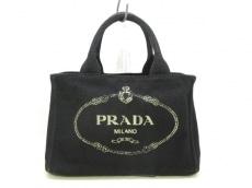PRADA(プラダ) トートバッグ CANAPA B2439G 黒 キャンバス