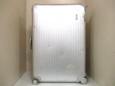リモワ キャリーバッグ シルバー ロックNo【555】 アルミニウム