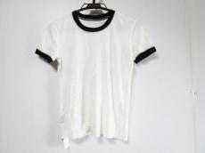 ルシアンペラフィネ 半袖Tシャツ サイズS レディース 白×黒