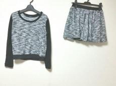 イング スカートセットアップ サイズM レディース美品  黒×白