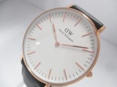 Daniel Wellington(ダニエルウェリントン) 腕時計美品  メンズ 白