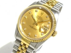 ROLEX(ロレックス) 腕時計 デイトジャスト 16233G メンズ ゴールド