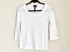 ランバンコレクション Tシャツ サイズ38 M レディース 白 フリル