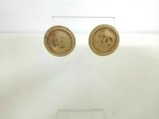 CHANEL(シャネル) ピアス美品  金属素材 シャンパンゴールド
