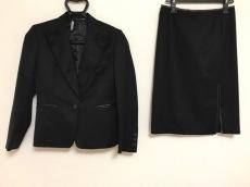 GUCCI(グッチ) スカートスーツ レディース 黒 一部レザー