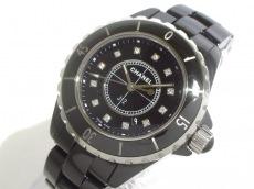 CHANEL(シャネル) 腕時計美品  J12 H1625 レディース 黒