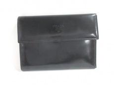 PRADA(プラダ) 3つ折り財布 - M510 黒 レザー