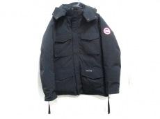 カナダグース ダウンジャケット サイズL/G L メンズ 黒 冬物