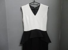 ヨーコ チャン ワンピース サイズ38 M レディース美品  黒×白