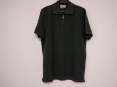 HERMES(エルメス) 半袖ポロシャツ メンズ グリーン ジップアップ