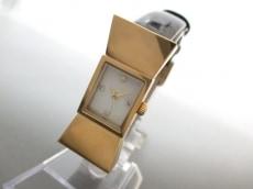 Kate spade(ケイト) 腕時計美品  カーライル 0068 レディース 白