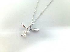 mikimoto(ミキモト) ネックレス美品  シルバー×パール 白
