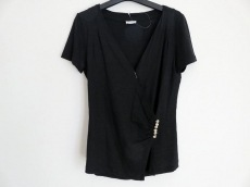 ブルネロクチネリ 半袖カットソー レディース 黒 半袖