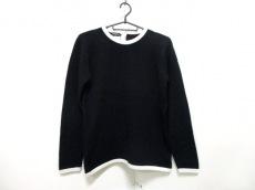 CHANEL(シャネル) 長袖セーター サイズ42 L レディース 黒×ベージュ