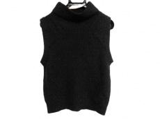 VIS(ヴィス) ノースリーブセーター サイズM レディース美品  黒